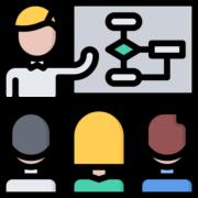Icon Schulung Qualität- und Managementsystem